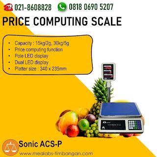 Price Scale ACS-P