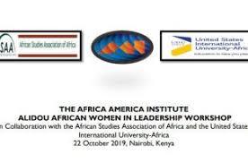 THE AFRICA AMERICA INSTITUTE ALIDOU AFRICAN WOMEN IN LEADERSHIP WORKSHOP