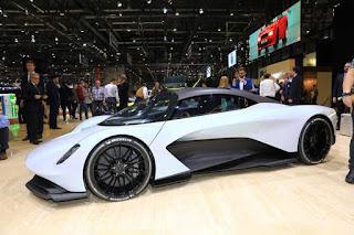 Aston Martin Valhalla, Mobil performa tinggi