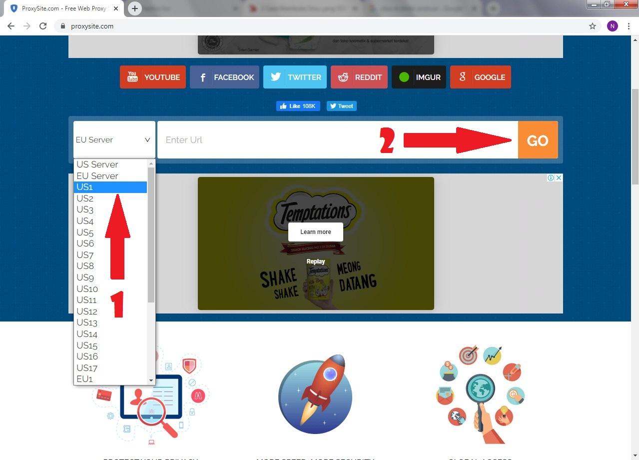 100% WORKS! Tanpa Aplikasi 2 Cara Buka Situs yang di Blokir