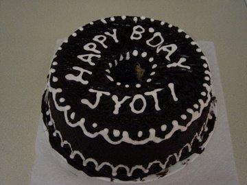 Marble Chiffon Cake - Birthday Delight