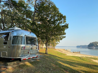 Rosie in White Oak Creek COE Campground