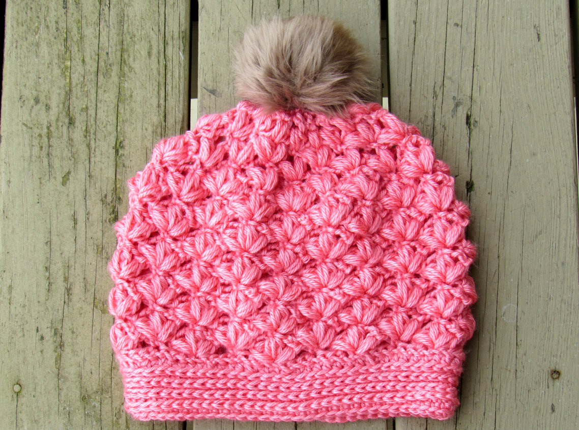 Crochet Pattern To Make A Beanie : Crochet Dreamz: Winter Blossom Slouch Crochet Pattern ...