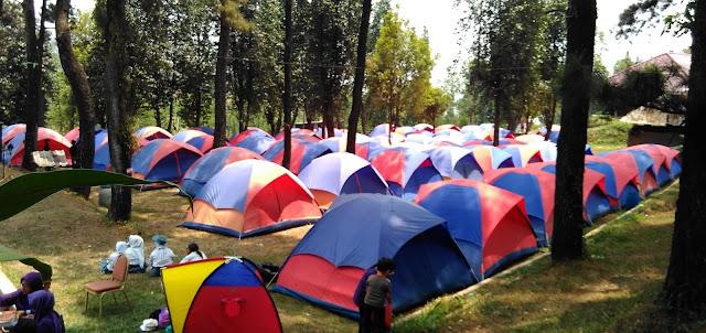 Camping Ground Villa Bukit Hambalang Sentul