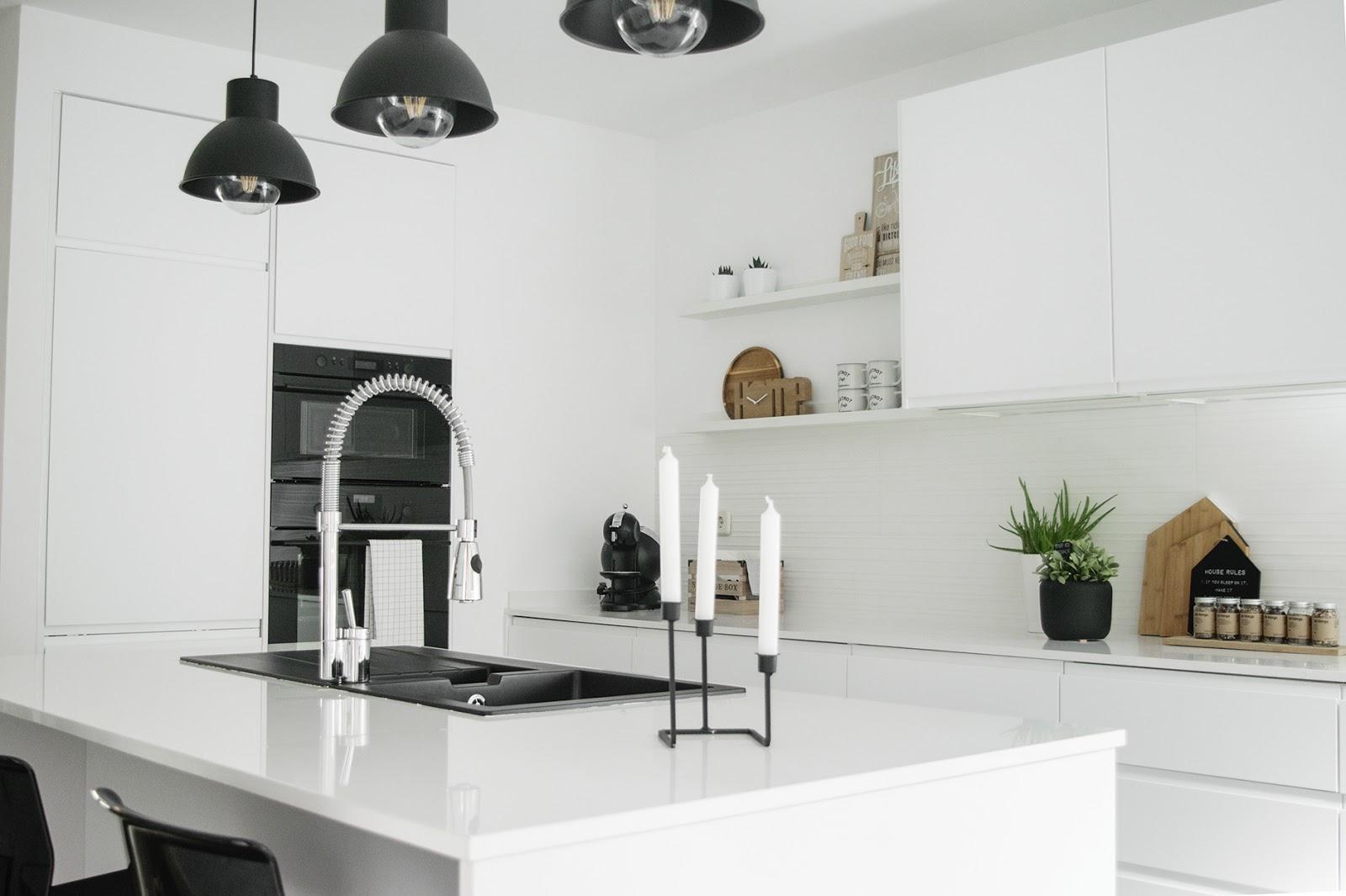Cocina de Ikea de estilo nórdico