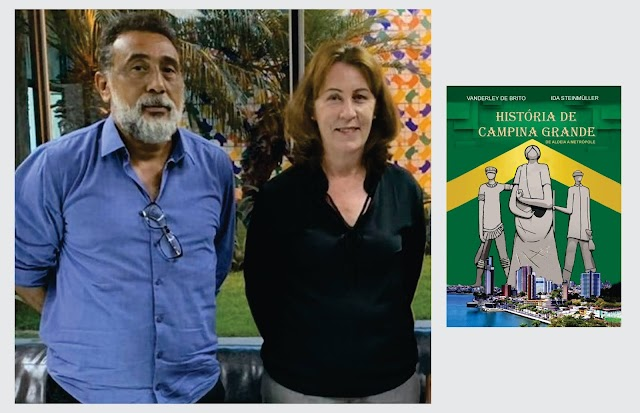Representantes do Instituto Histórico preparam lançamento de livro sobre a história de Campina Grande