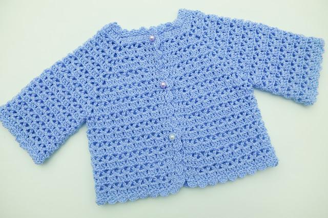 4 - Crochet Imagen Chaqueta muy fácil para todas las tallas a crochet y ganchillo (5)