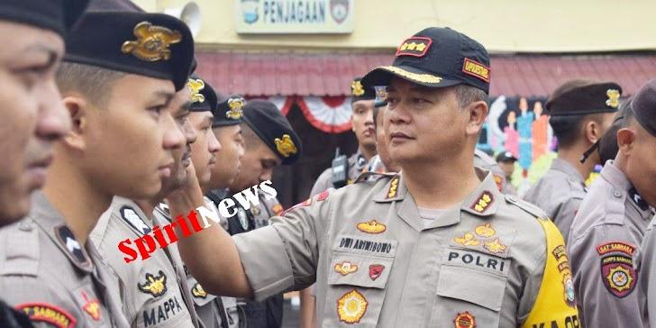 Kapolrestabes Makassar, Tegaskan Anggota Harus Jaga Kedisplinan, Kerapian dan Ketampanan