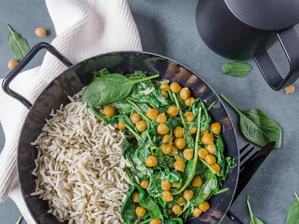 Spinat mal indisch – einfach & einfach köstlich!