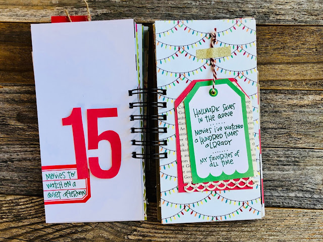 #30lists #30 Days of Lists #junk journal #mini book #handmade journal #journal #scrapbook