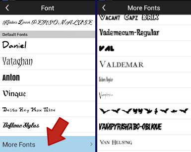 2 Cara Menambah Font Di Aplikasi Picsay Pro 7