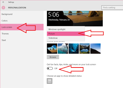 "How to Disable Windows 10 Lock Screen Ads,Tips & Picture,how to disable lockscreen,remove lockscreen,lock screen pictur disable,how to disable windows 10 lockscreen,Lock Screen,Get fun,facts,tips,tricks & more on your lock screen"",remove adds,background picture,screen savers,windows 10 lock screen change,how to change,how to stop,how to disable,Personalization,how to insert picture in screen saver"
