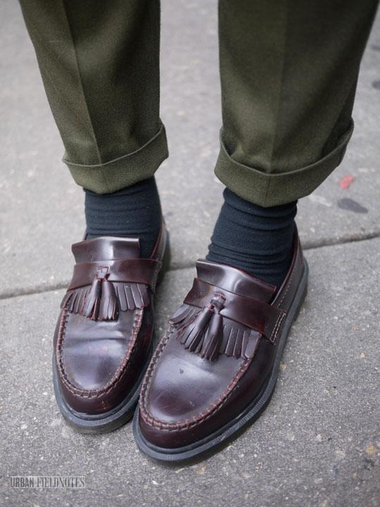 Dr Marten Mens Slip On Shoes