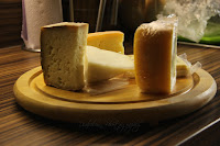 Vzorky sýrů/The Some of Cheeses