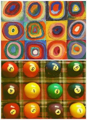 Kadinsky Squares with Concentric Circles Getty Challenge