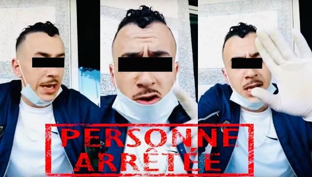 """إعتقال الشخص الذي ظهر في فيديو يرتدي قناعا وقفازات طبية مدعيًا تسجيل إصابات مؤكدة بفيروس """"كورونا"""""""