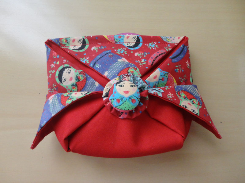 Origami Pouch Bag Tutorial + Pattern