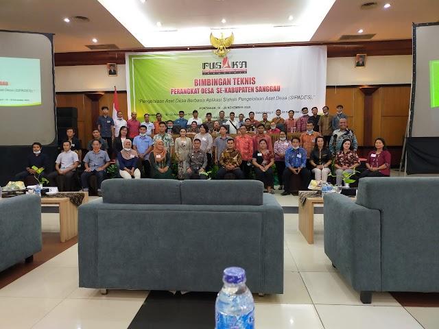 Bimbingan teknis perangkat desa se Kabupaten Sanggau