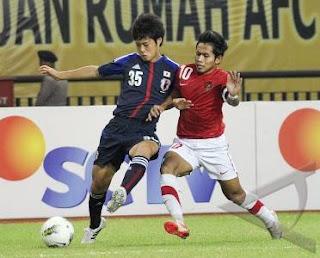 Inilah Hasil Pertandingan Timnas Indonesia vs Jepang