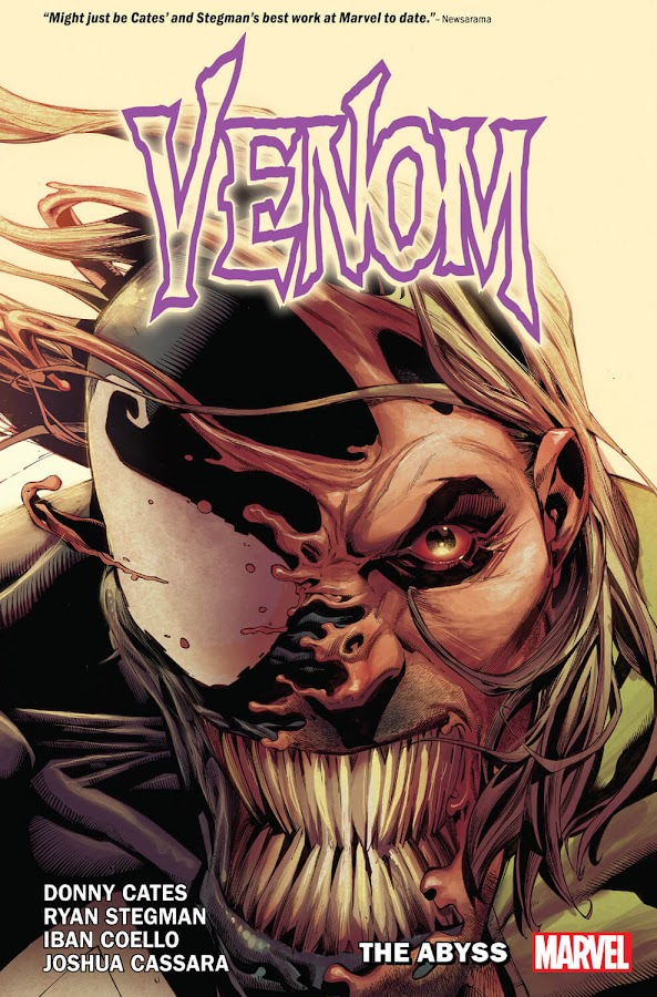 venom the abyss marvel comics eddie brock reed richards earth 1610 ultimate fantastic four donny cates iban coello ryan stegman