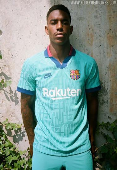 barcelona 19 20 third kit released footy headlines barcelona 19 20 third kit released