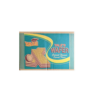 Yale's Coconut Flavour Wafer 10g x 120