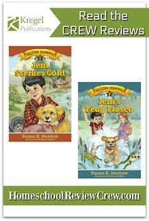 Jem Strikes Gold & Jem's Frog Fiasco  {Kregel Publications Reviews}