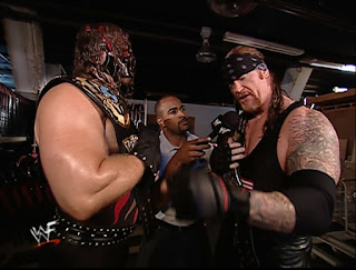 WWE / WWF Unforgiven 2001 - Jonathan Coachman interviews Kane & Undertaker about their match with Kronik