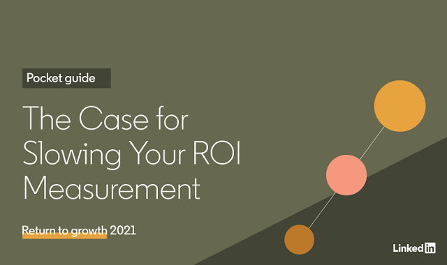 How to slow down ROI measurement
