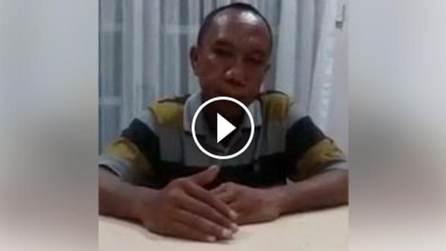 Iwan Bopeng Yang Ancam Gorok Leher Tentara Dan Bilang Allah Halalkan Babi Akhirnya Minta Maaf