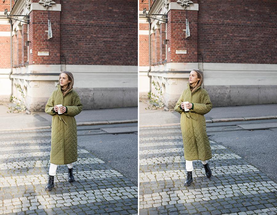 Syksyn ja talven trendit: tikkitakki // Autumn and winter fashion trends: quilted coat