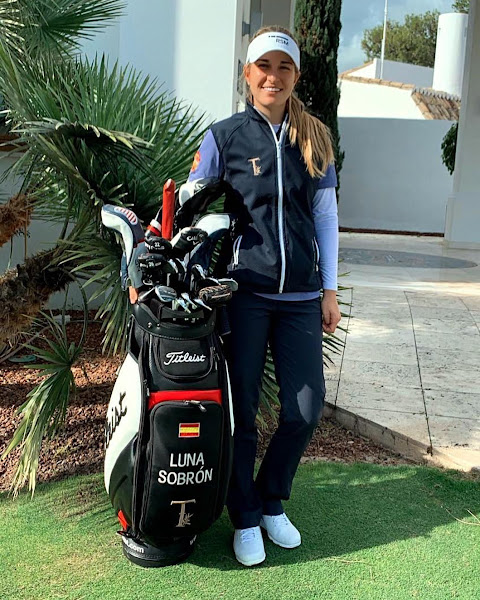 Luna Sobron Galmes, golfer from Spain