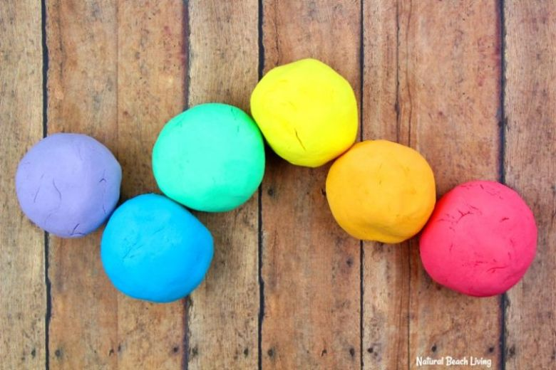 Shaving cream playdough recipe