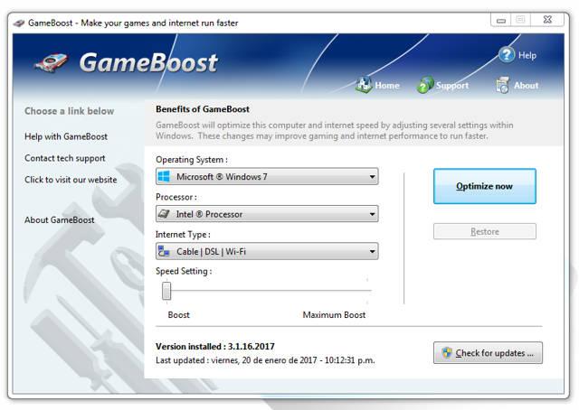 PGWare GameBoost 3.1 PC (Aumenta el Rendimiento de tus Juegos)