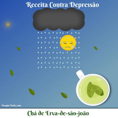 Receita Contra Depressão: Chá de Erva-de-são-joão
