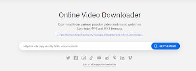 Tải Video Facebook, Cách Tải Video Trên Facebook Cực Nhanh