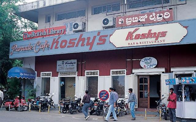 Ein Foto aus einer indischen Stadt