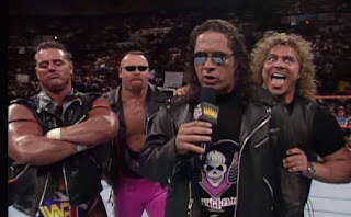 WWE / WWF - King of the Ring 1997 - The Hart Foundation issued a challenge