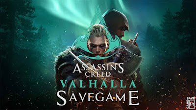 assassin creed valhalla save game 100