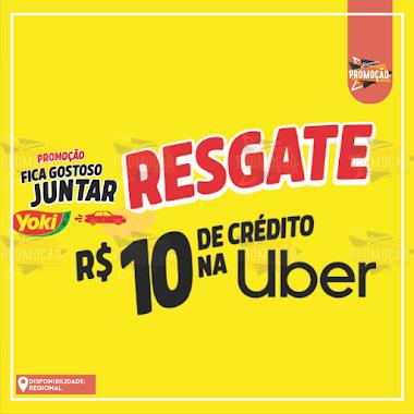 Participe da Promoção e Resgate R$10 de Crédito na UBER