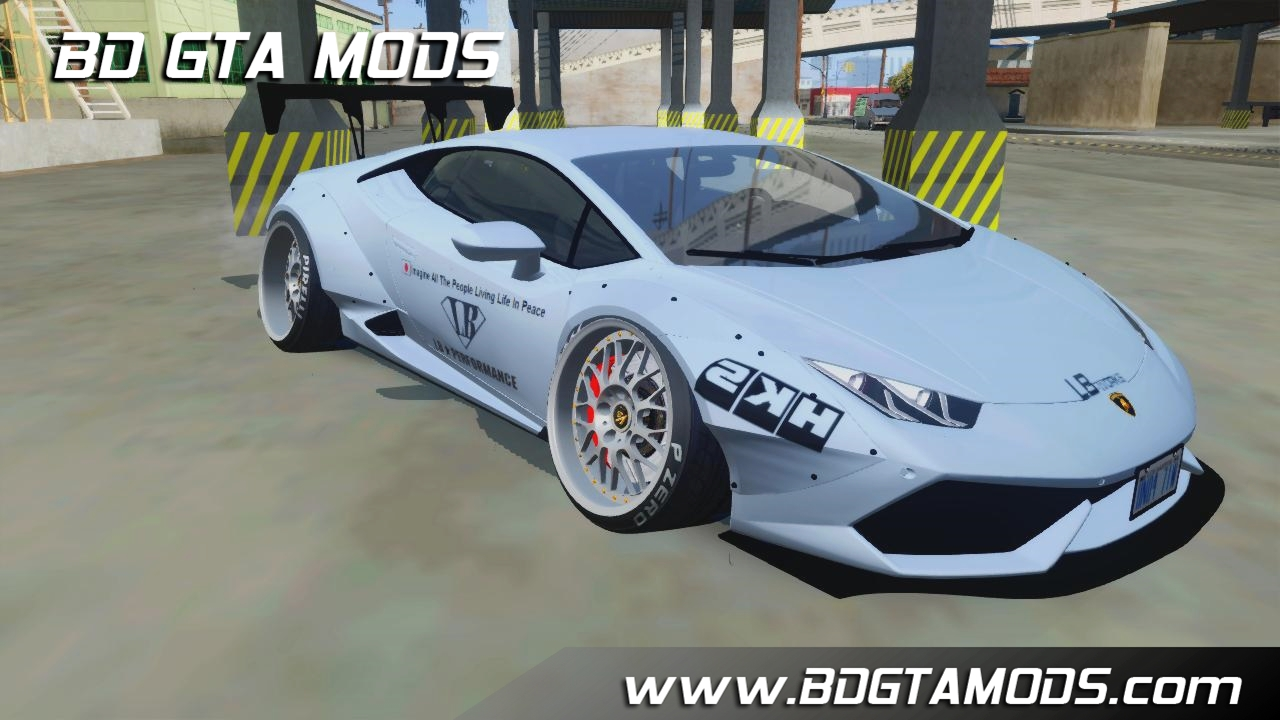 gta sa lamborghini huracan lp610 4 liberty walk. Black Bedroom Furniture Sets. Home Design Ideas