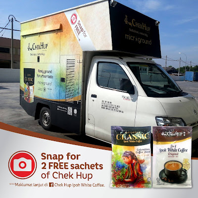 Free Chek Hup Ipoh White Coffee Sample Giveaway