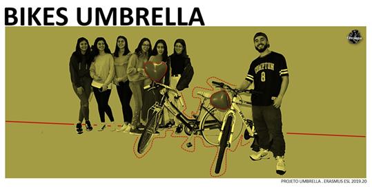 Bikes Umbrella