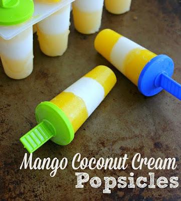 Mango and Coconut Popsicle Recipe