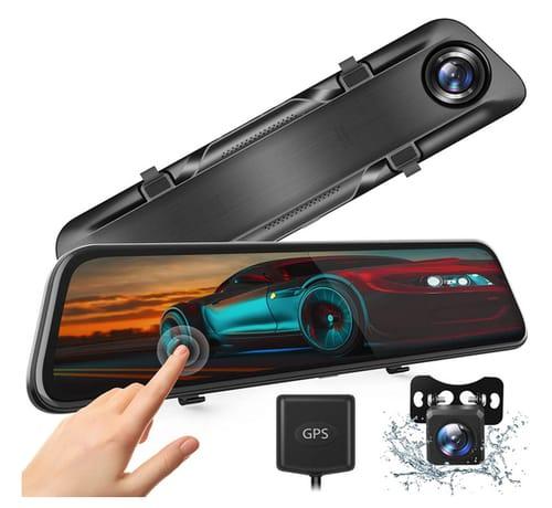 WinWinWin H612T 4K Mirror Dash Cam for Cars