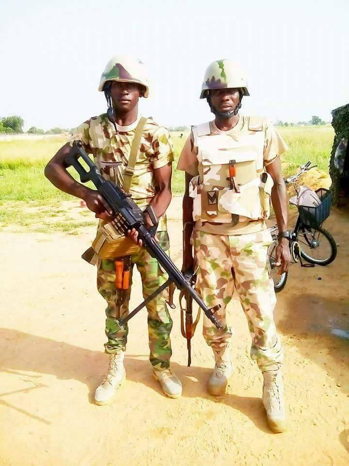 Another Gallant Soldier Killed While Fighting Boko Haram Insurgents In Maiduguri (Photos)