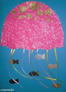 meduza i rybki