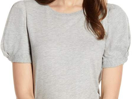 Twisted Puff Sleeve Tee offer 40% off