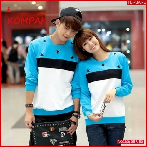 AKC258S42 Sweater Couple Bluestar Anak 258S42 Pasangan BMGShop