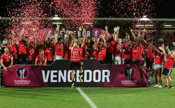 Blogs Benfica Vencedor da Supertaça Futebol Feminino 2019
